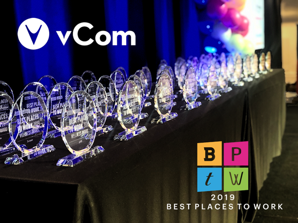 vCom Solutions - Best Places to Work In the Bay Area 2019