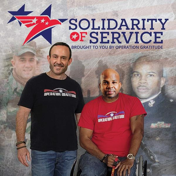 Solidarity of Service, hosted by Operation Gratitude CEO and Retired Marine Lieutenant Colonel Kevin Schmiegel and the Chief Strategy and Operations Officer for NAMI, Retired Marine Chief Warrant Officer-2 Sherman Gillums, Jr.