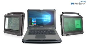 DT Research LT300 Series Rugged Convertible Laptops