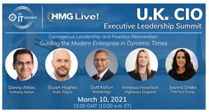2021 HMG Live! U.K. CIO Executive Leadership Summit
