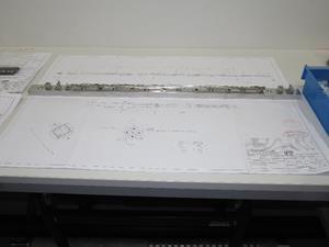 Mock-up of a Lightbridge metallic fuel rod