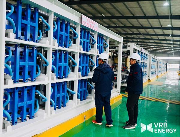 Vanadium Redox Battery Energy Storage System