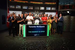 Toronto Wolfpack Open Toronto Stock Exchange (TSX)