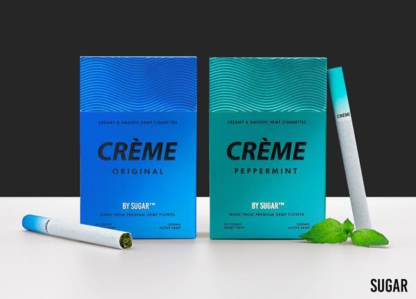 Sugar Introduces CRÈME By Sugar Hemp Cigarettes
