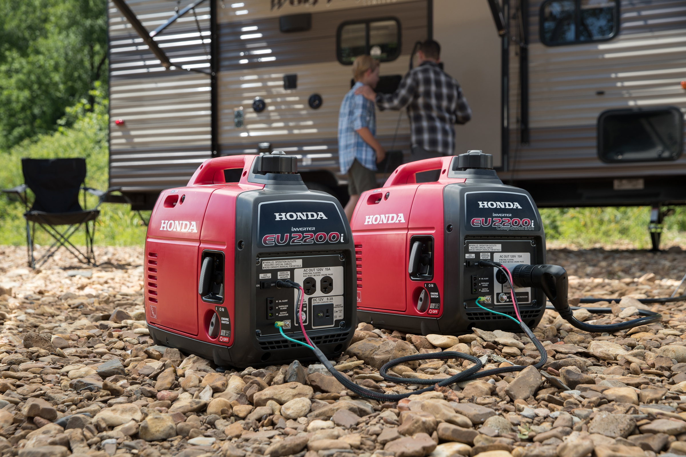 Perfect Honda Power Equipment. All New Honda EU2200i Super Quiet Series Generator  ...
