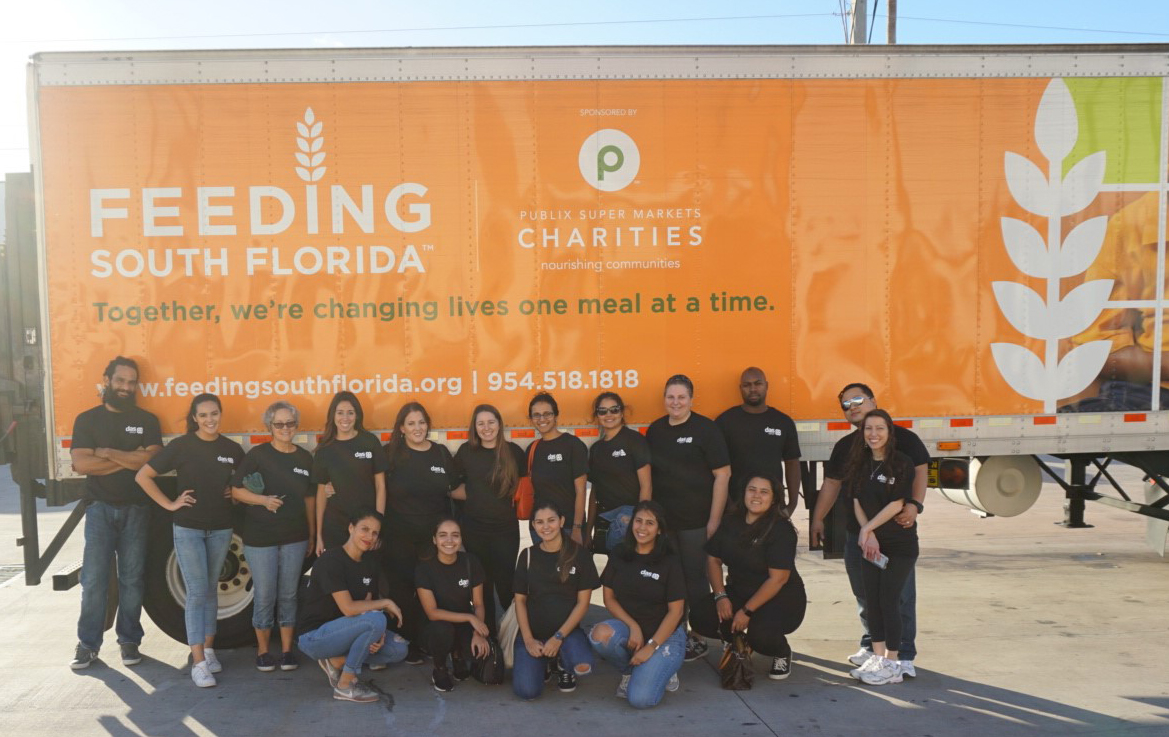 DAS Group at Feeding South Florida