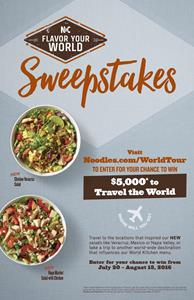 Noodles & Company Flavor Your World Sweepstakes Poster.jpg