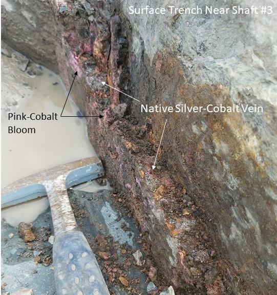 Figure 3 Oct 1 2020 Silver Cobalt Vein