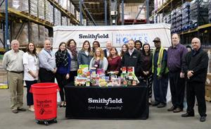 Smithfield Foods Helping Hungry Homes – St. Louis, MO