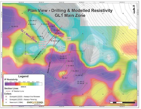 Drilling on Resistivity, GL1 Main Zone