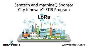 Semtech and machineQ sponsors STIR program
