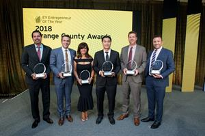 EY announces winners for the Entrepreneur Of The Year® 2018 Orange County Region Awards