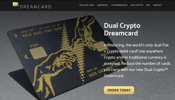 Dual Crypto Dreamcard