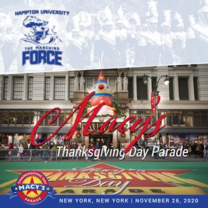 Thanksgiving Parade New York 2020 The Hampton University Marching Force to perform in 2020 Macy's