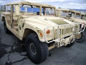 Rare Workhorse Military Humvees Up for Public Bid at