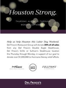 DFRG Hurricane Harvey Relief Efforts