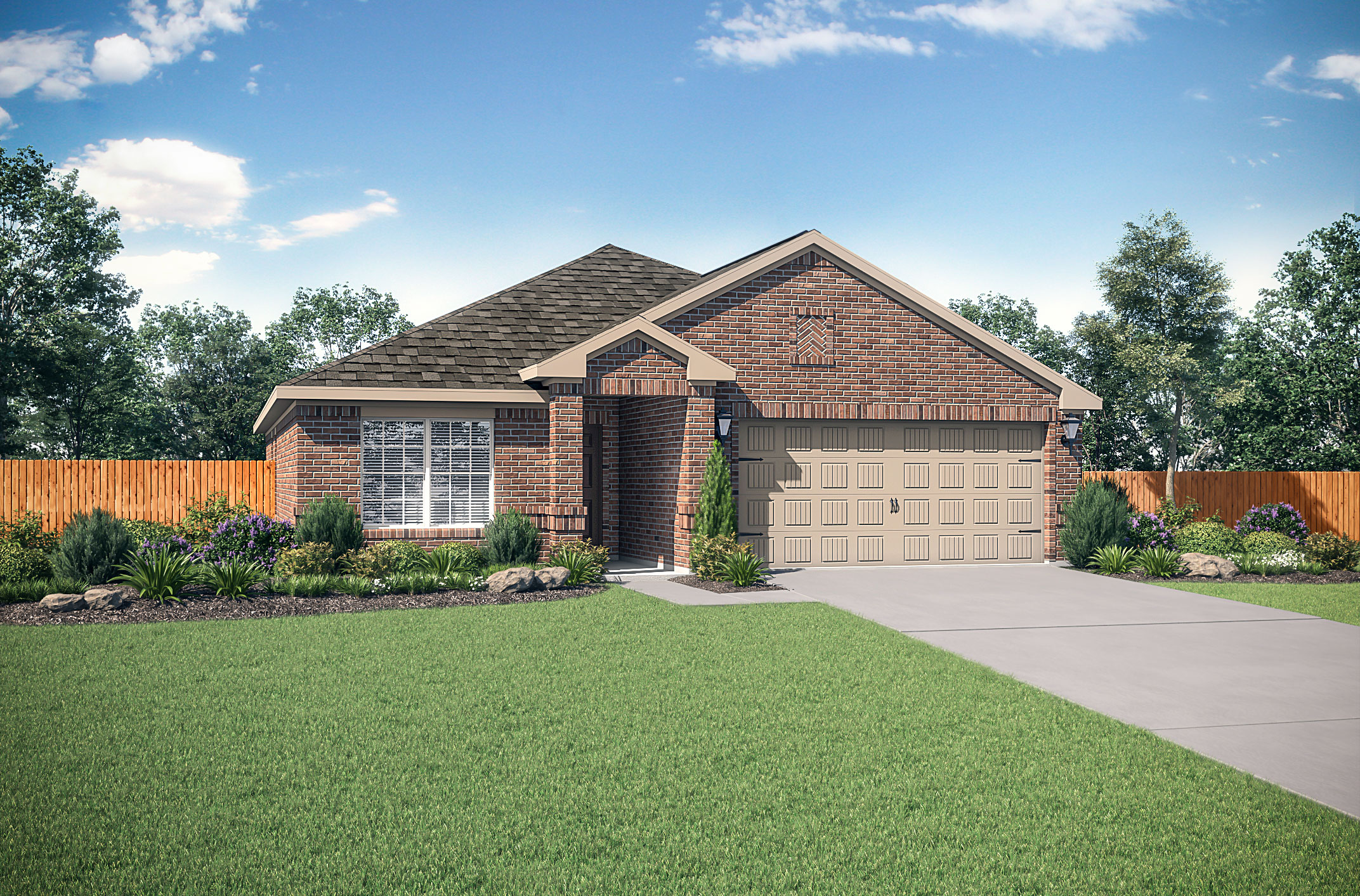 The Blanco plan at Vacek Country Meadows by LGI Homes