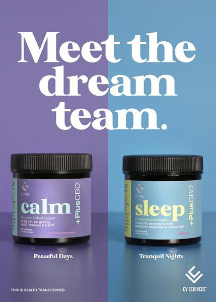 PlusCBD Sleep  Calm Gummies Announcement Card eComm 5x7 042221 (1)