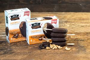 So Delicious Dairy Free Launches New Cashewmilk Bars
