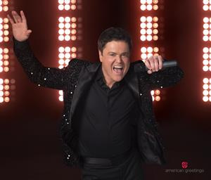 Feel the puppy love with new donny osmond birthday ecards from have donny osmond do the honors with the latest addition to american greetings hollywood smashups collection of customizable celebrity video ecards m4hsunfo