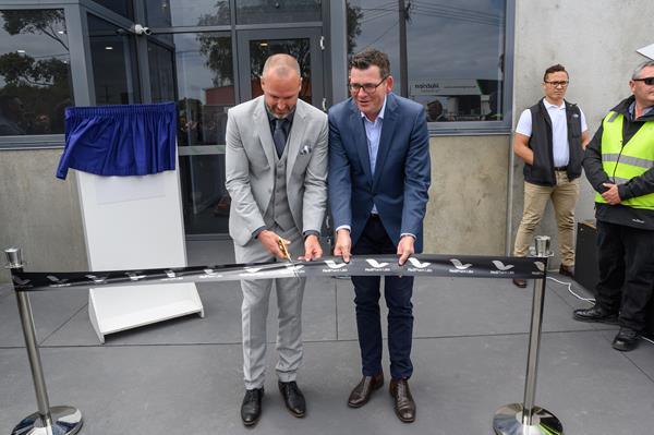 Ribbon Cutting - MediPharm Labs Australia