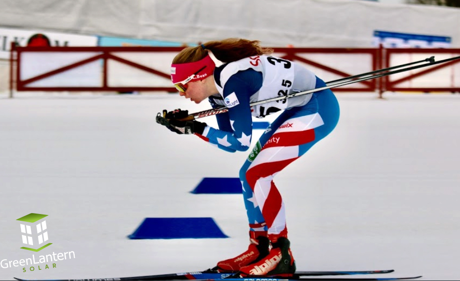 Green Lantern Sponsored VT athlete Ava Thurston joins Team USA for Junior World Cross Country Ski Championships