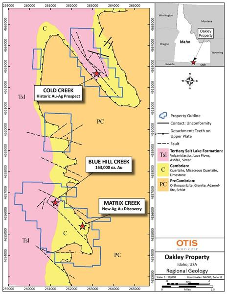 Otis Initiates Fieldwork and Expands Land Position at Oakley Project ...