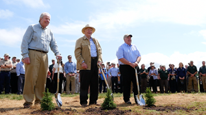 JK Irving and Sons - Planting of the Billionth Tree