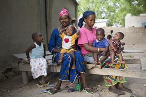 Women and children under 5 in Mali