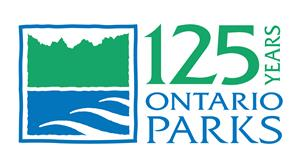 Ontario Parks 125 logo