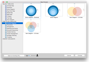 MindManager 11 for Mac - Template Library