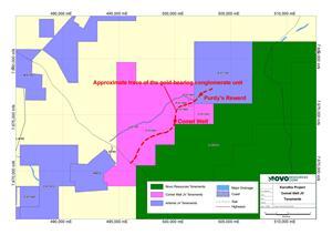 Australia Map Karratha.Novo To Consolidate Interests In Large Land Position In Karratha