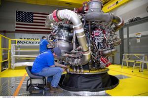 AR-22 Rocket Engine Final Assembly