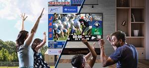 Daktronics Provides Technology to Bring the Big Screen Home