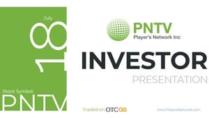 Player's Network Inc. Investor Presentation