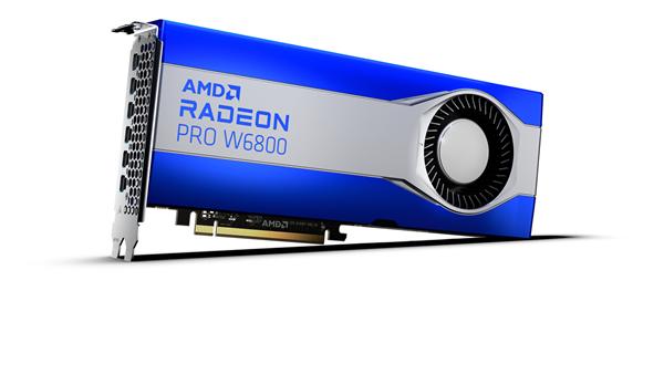AMD Radeon PRO W6800 Graphics Card_Front