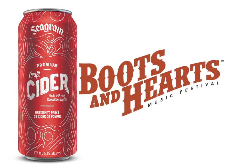 Seagram Cider Signs 3 Year Deal