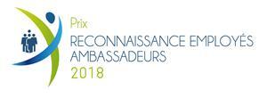 Logo des Prix reconnaissance employés ambassadeurs 2018 du RQRA