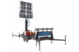 RNT-WCDE-11-PLM50-16X500LTL-LED Mast Collapsed