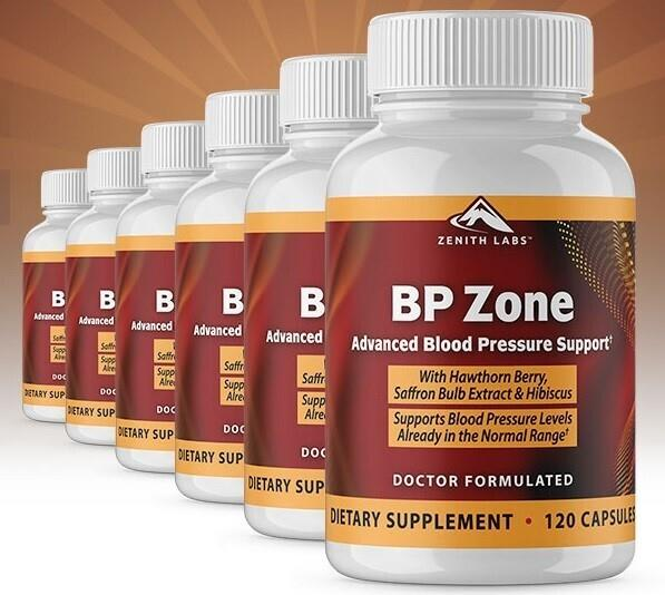 BP Zone Reviews 2021: Legit Zenith Labs BP Zone Price for Sale - By iExponet