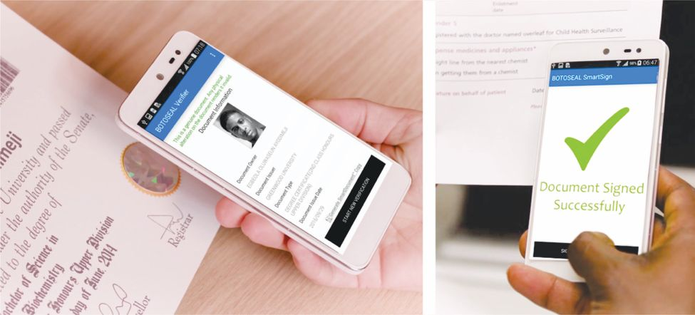 Innovative way to digitally sign, verify and secure your documents.