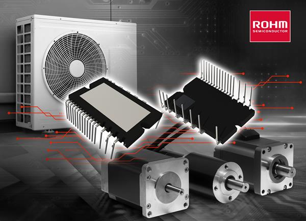 ROHM's new BM6437x series 600V IGBT IPMs deliver best-in-class low noise characteristics