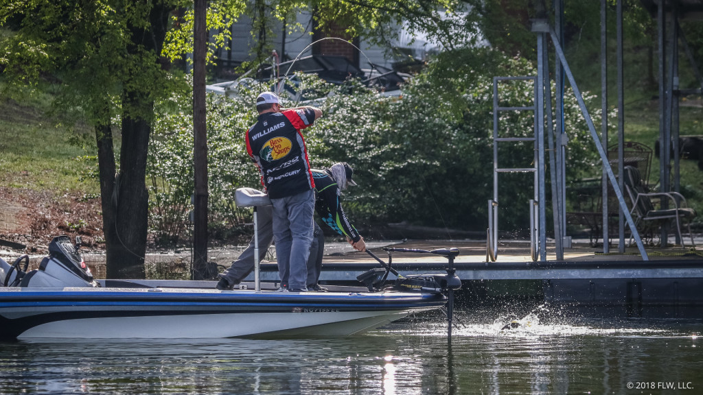 Williams Extends Lead on Day Two of FLW Tour at Lewis Smith