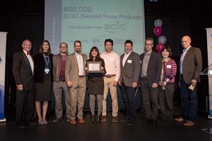 Microbiome Insights team receive award at BCIC New Ventures Competition