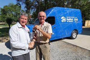 Nissan donates to Rutherford County Habitat