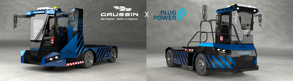 Plug Power and Gaussin Hydrogen-powered Transportation Vehicles