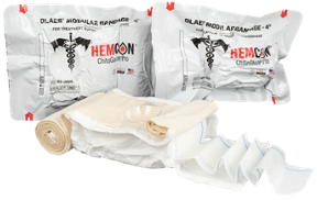The OLAES® Hemostatic Modular Bandage combines the globally recognized OLAES® Modular Bandage with battle-tested HemCon® ChitoGauze® PRO, creating the most comprehensive trauma bandage for multiple injury profiles.