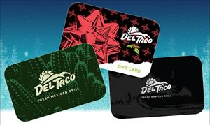 Del Taco Holiday Gift Cards