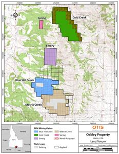 Otis Identifies 3.5km Gold & Silver Anomaly at Oakley Project TSX ...