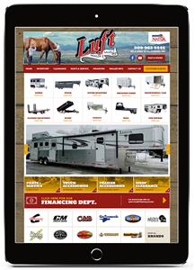 Luft Trailer Sales Website